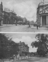 High Beech, Epping Forest, and the road through Mare Street, Hackney