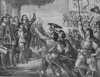 The King Hoist His Standard at Nottingham: Opening scene of the Civil War