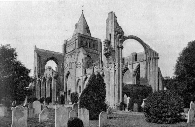 RUINS OF CROWLAND ABBEY