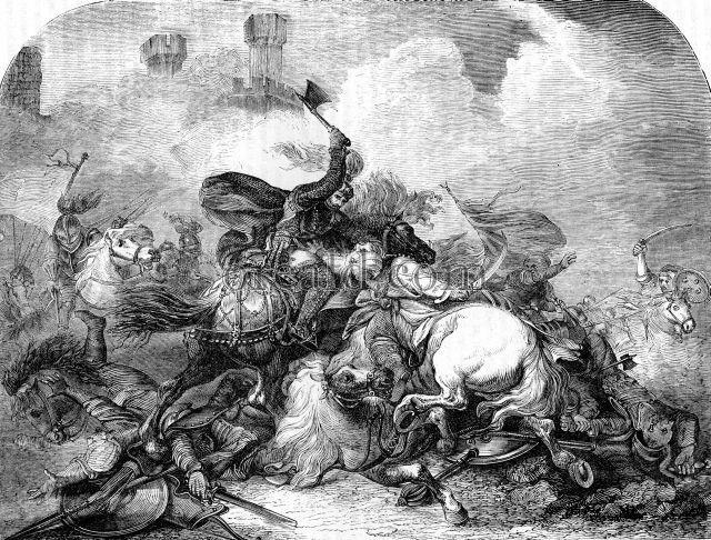 Picture Richard Coeur-de-Lion at the Battle of Jaffa