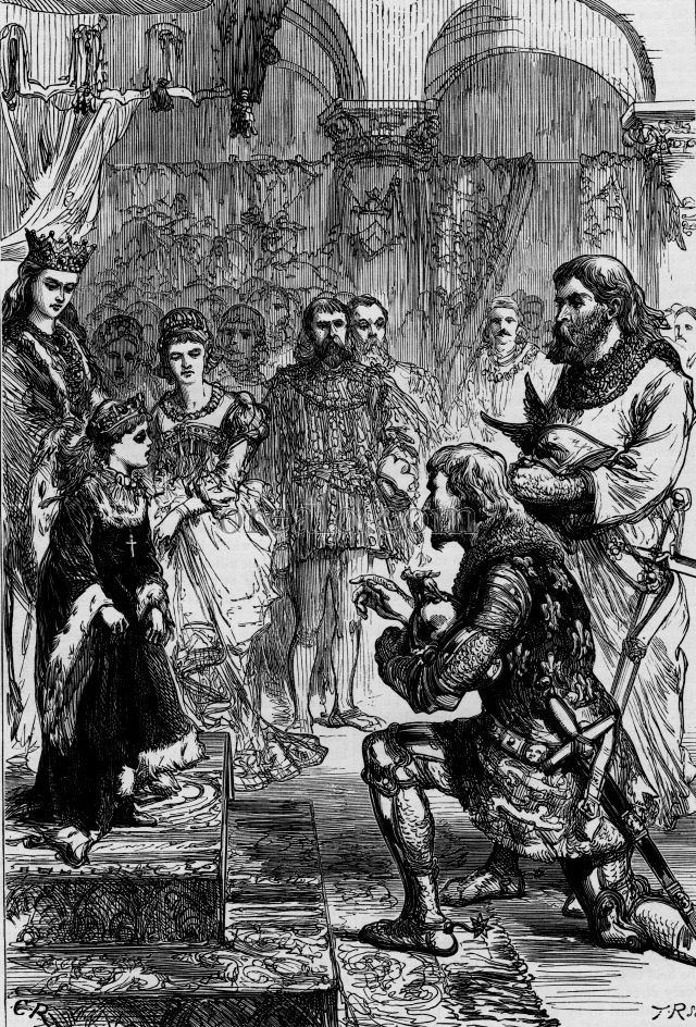 Betrothal of the French Princess to Richard II.