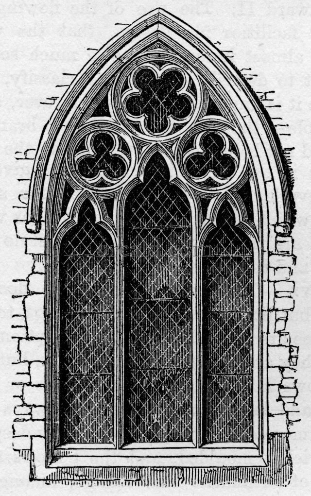 Window, from Meopham