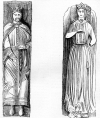 Effigies of Richard I. and Berengaria