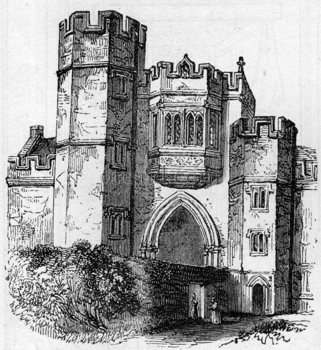 Gatehouse of the Priory at Montacute