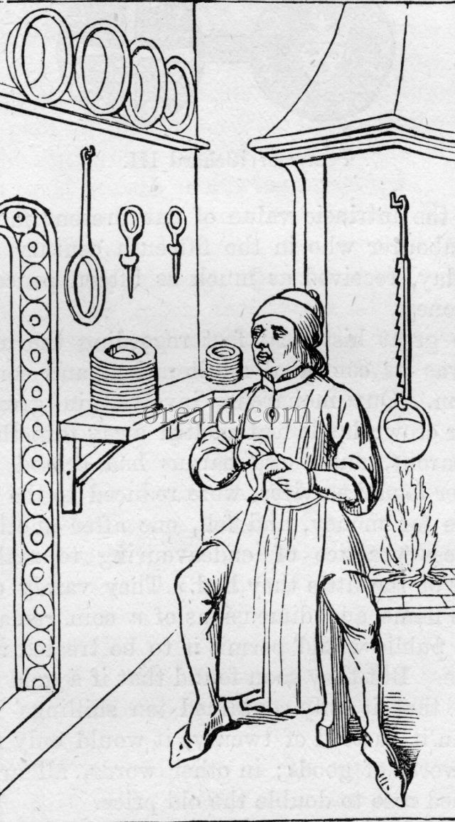 Kitchen of the 15th Century