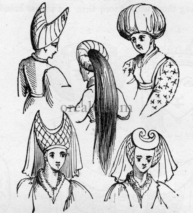Ladies' Head-dresses.