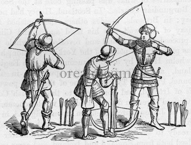 Bowmen of the Fourteenth and Fifteenth Centuries.