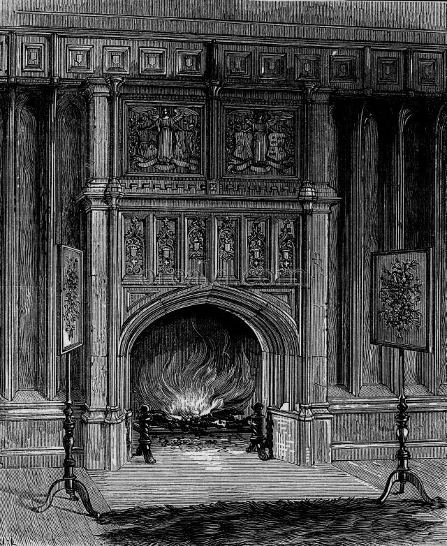Boudoir of Anne Boleyn