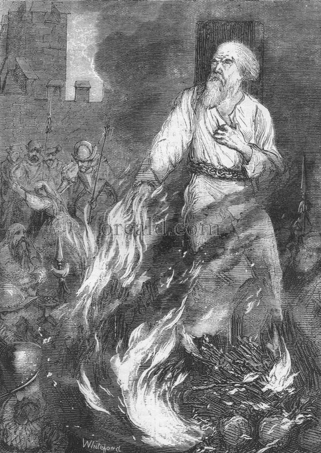 The Burning of Archbishop Cranmer