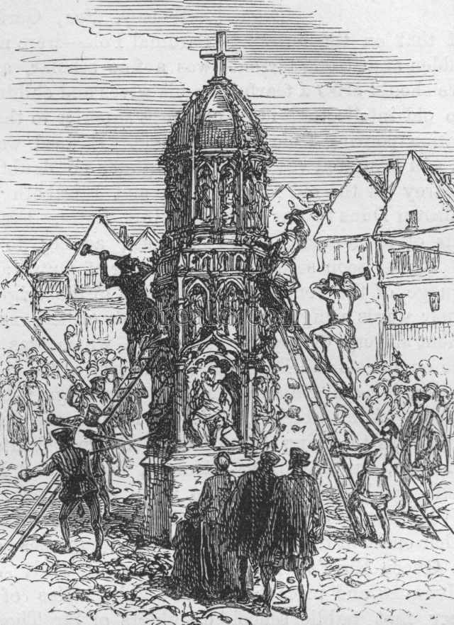 Destruction of the Cross in Cheapside