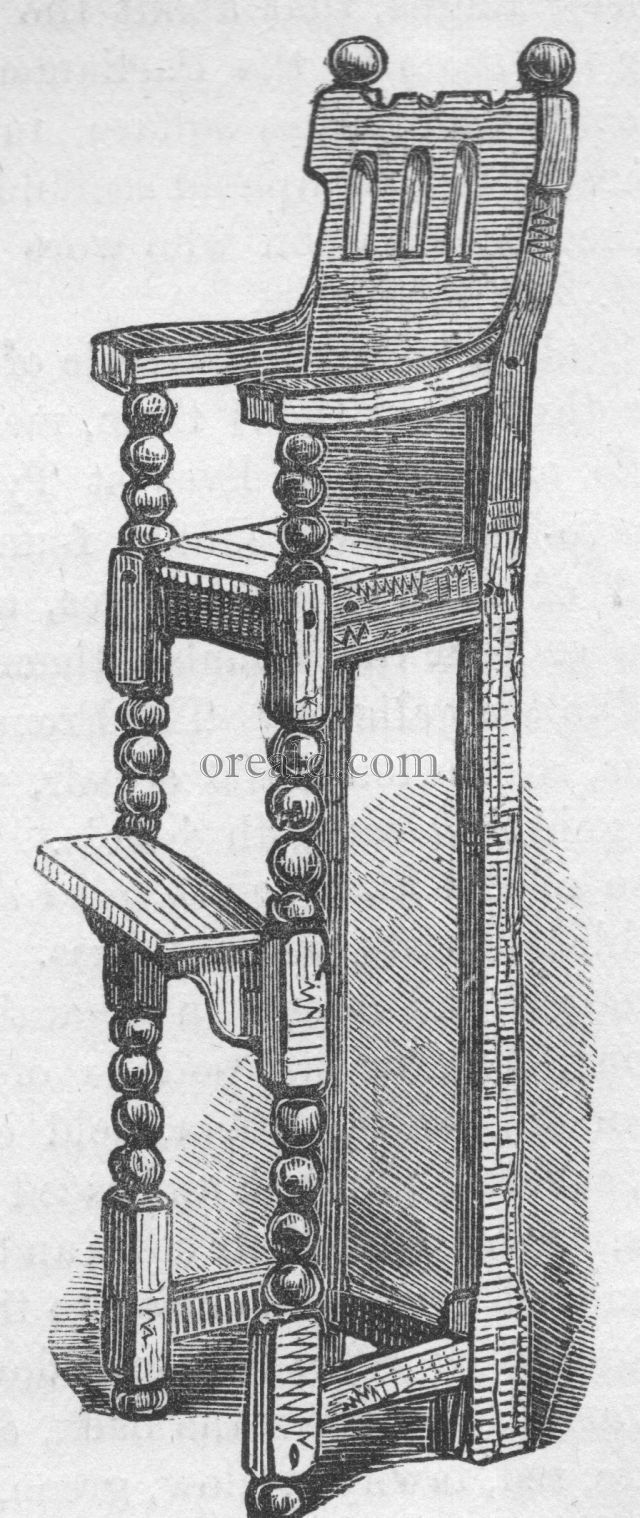 Nursery Chair of James VI