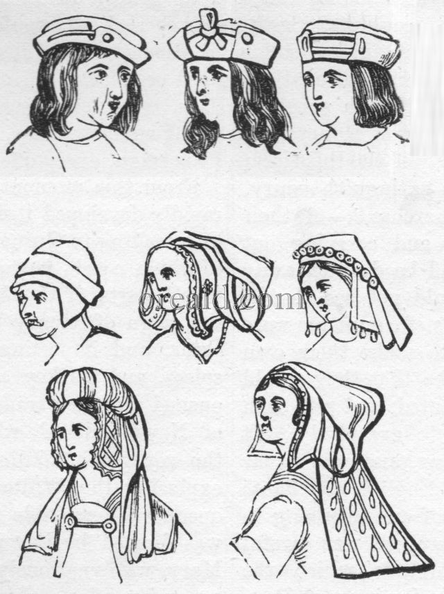 Head-dresses of the sixteenth Century